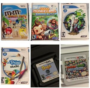 PlayStation 2, wii and DS games
