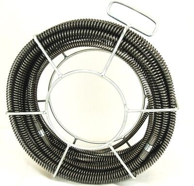 60 X 58 Model S75 Sectional Pipe Drain Cleaning Cable Will Fit Ridgid C8