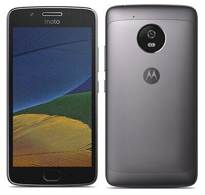 "Motorola Moto G5 XT1675 4G 5"" Smartphone 16GB Unlocked Sim-Free Grey (Dented) B+"