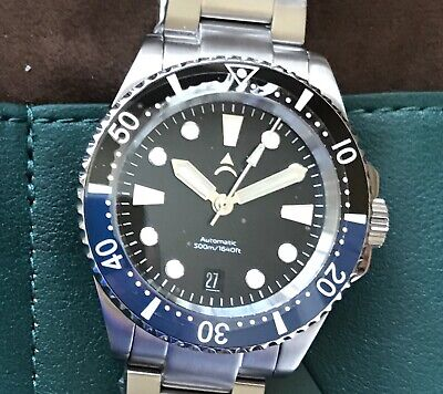 """Axios Ironclad 40 """"Ocean Gulf"""" 500M Automatic Dive Watch (NEW)"""