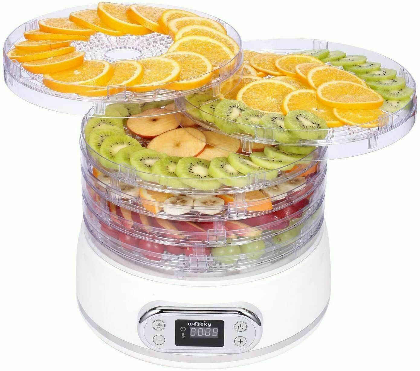 6 Tier Food Dehydrator Machine Meat Beef Jerky Maker Fruit P