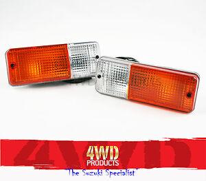 Front-Blinker-Parklight-SET-L-R-H-Suzuki-Sierra-1-0-1-3-Maruti-1-0-Drover1-3