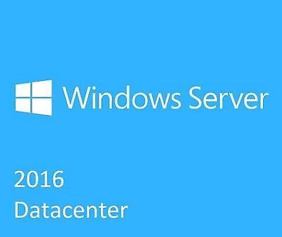 Msft Windows Server 2016 Datacenter 16 Core 2 Cpu Initial License W  5 Cals