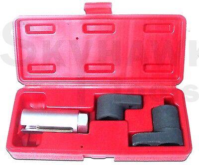 3 Pc Auto Oxygen Sensor 6 Point Socket Wrench O2 Tool Remover Installer Set