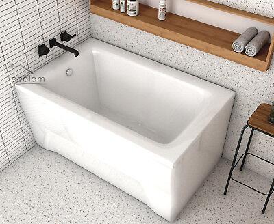 Badewanne Kleine Wanne Rechteck 100x65 110x70 Cm