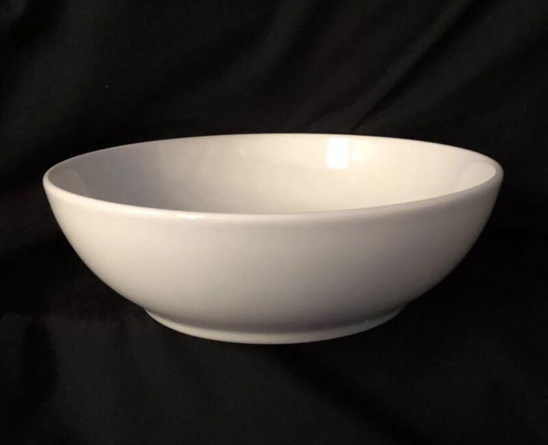 Denby White Cereal Bowl ~new~