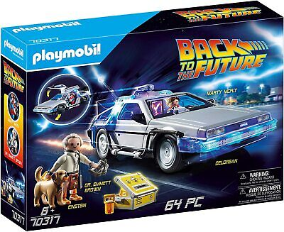 Playmobil Back To The Future 70317 Delorean With Light Effects