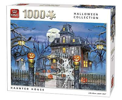 oween Jigsaw Puzzle - Spooky Haunted House Scary Party 05723 (Jigsaw Halloween)