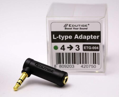 EDUTIGE ETG-004 – 4-Pole to 3-Pole Microphone Adapter