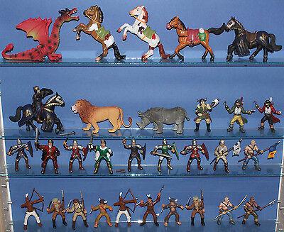 Ritter Indianer Kämpfer etc. === Sammlung 30 Figuren von Simba