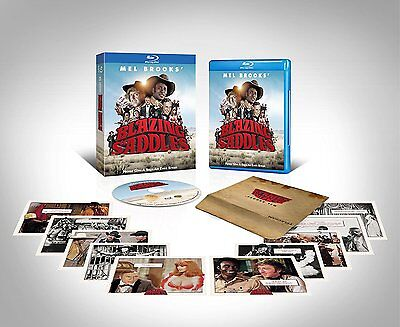 Blazing Saddles  Blu Ray Disc  40Th Anniversary Ed   10 Collectible Cards   New