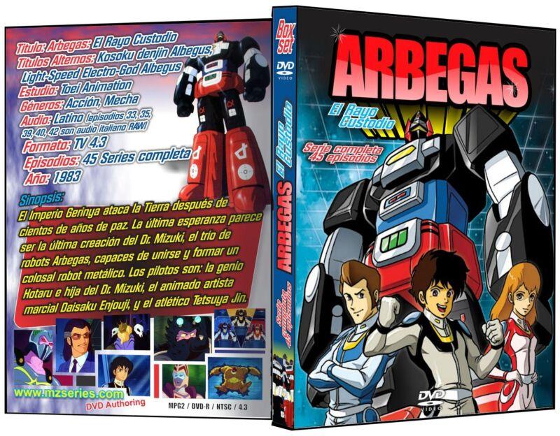 Arbegas El Rayo Custodio Audio Latino DVDKosoku denjin Albegus