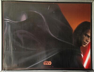 Cinema Poster: STAR WARS REVENGE OF THE SITH 2005 (Advance Quad) Ewan McGregor