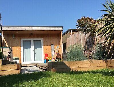 Insulated Garden Office Pod, garden studio, man cave, garden room, summerhouse