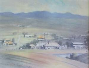 REX NEWELL OIL PAINTING Runaway Bay Gold Coast North Preview