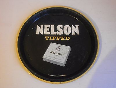 vintage nelson cigarette drinks tray