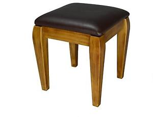 Oak Dressing Table Stools