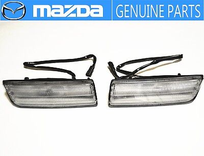 MAZDA GENUINE OEM RX-7 FC3S Front Pass Position Lamp Light  JDM Flash Passing