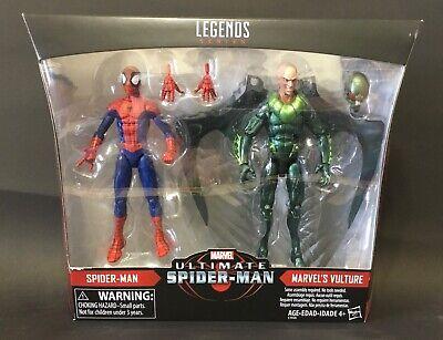 Marvel Legends Ultimate Spider-Man vs. Vulture 2 Pack sealed