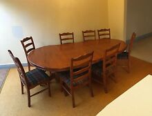 Dining Table extendable 6+2 Chairs, Endeavour Furniture Collection Maroubra Eastern Suburbs Preview