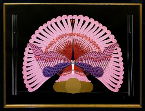 "Erte ""phoenix Triumphant"" 1983 