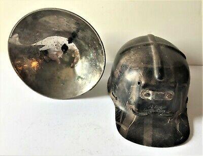 COAL MINING MSA COMFO-CAP and JUSTRITE CARBIDE LAMP (See Description)