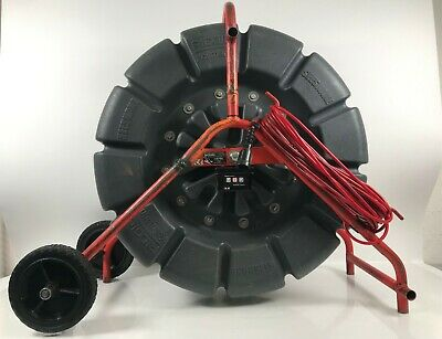Ridgid Kollman Seesnake Count Plus 150 Drain Camera Color Reel 71rk Sewer