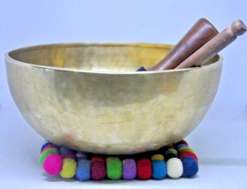 singing bowl 12 inch-large tibetan bowls for healing meditation singing bowls