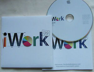 Apple Mac iWork 09 (Pages, Numbers, Keynote) - 5 User Family Pack English