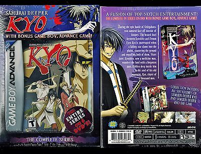 Samurai Deeper Kyo   Complete Collection With Gameboy Game   Brand New Anime Dvd