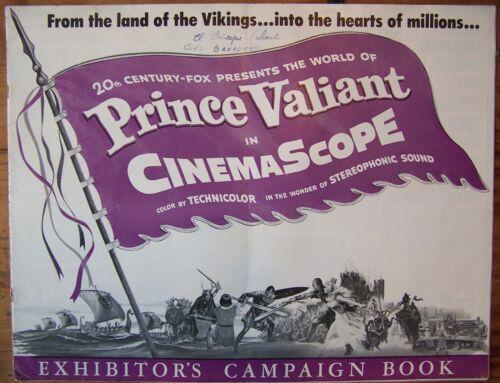 PRINCE VALIANT, Robert Wagner, 1954. Exhibitor