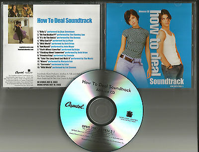 Mandy Moore How To Deal Advnce Promo Cd W  Flaming Lips John Mayer Beth Orton