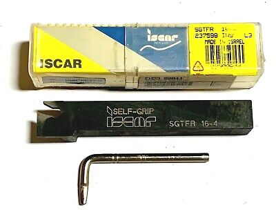 Iscar Sgtfr 16-4 F-cut Parting Grooving Tool Holder Made In Israel