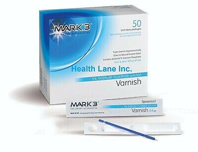 Mark3 Dental Varnish 5 Sodium Fluoride With Tcp 0.4ml Unit Dose Box50
