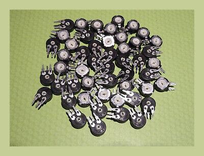 Lot Of 50 Pieces - Piher 10k Ohm Trim Pots