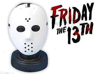 Halloween Freitag der 13th Stil Hockey Maske Kostüm Jason Voorhees V02 957