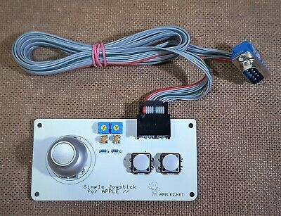 Joystick for APPLE II(//e, //c and //GS compatible)