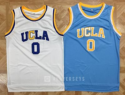 Russell Westbrook  0 Ucla Bruins College Basketball Jersey Ncaa White Blue