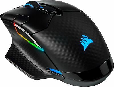 CORSAIR - DARK CORE RGB PRO Wireless Optical Gaming Mouse with Slipstream Tec...