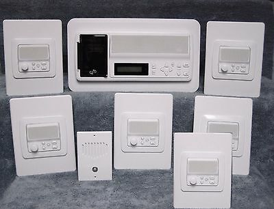 (6-room IntraSonic RETRO-M Home Intercom System / iPod MP3 )