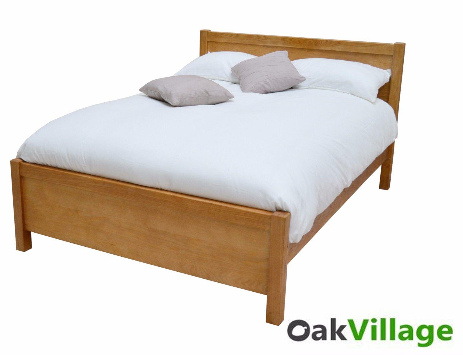 Picture of: Oak Super King Bed Solid Wood 6ft Super Kingsize Bed Frame New Wellow 4963533152379 Ebay