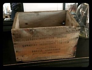 Antique ammunitions crate
