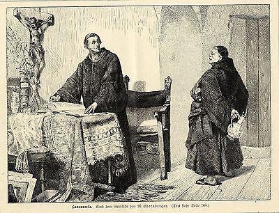 M.Eberstberger ( Savonarola )  Graphik von 1899