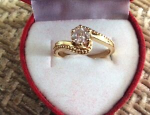 Variety of gold plated rings ( new)