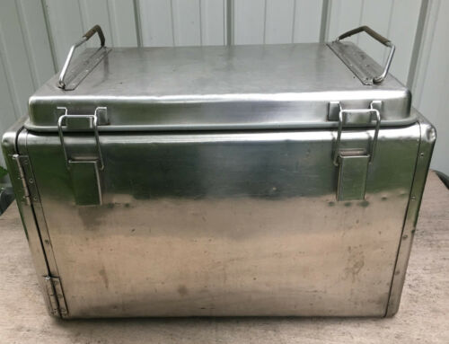 Vollrath Stainless Steel Insulated Catering Box food carrier transport container