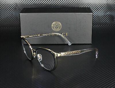 VERSACE VE1249 1252 Black Demo Lens 52 mm Women's (Versace Ladies Glasses)