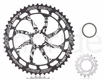 Silver/black Cycling Sunrun 11sp Cassette 11-42t
