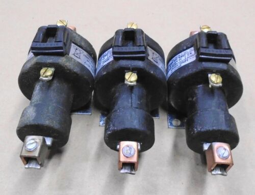 3 Lot USED MDI 35NO-120AH 1-Pole Contactor 35 Amps @ 480 Volts AC Coil 120 Volts