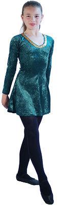 SHORT Irish/Celtic Dancing Dress/Starter Dress Fabulous Lyrical Dress-Size - Irish Dancing Kostüm