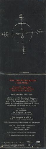 MEGADETH  The Disintegrators / She Wolf  rare promo cassette single SEALED!!!